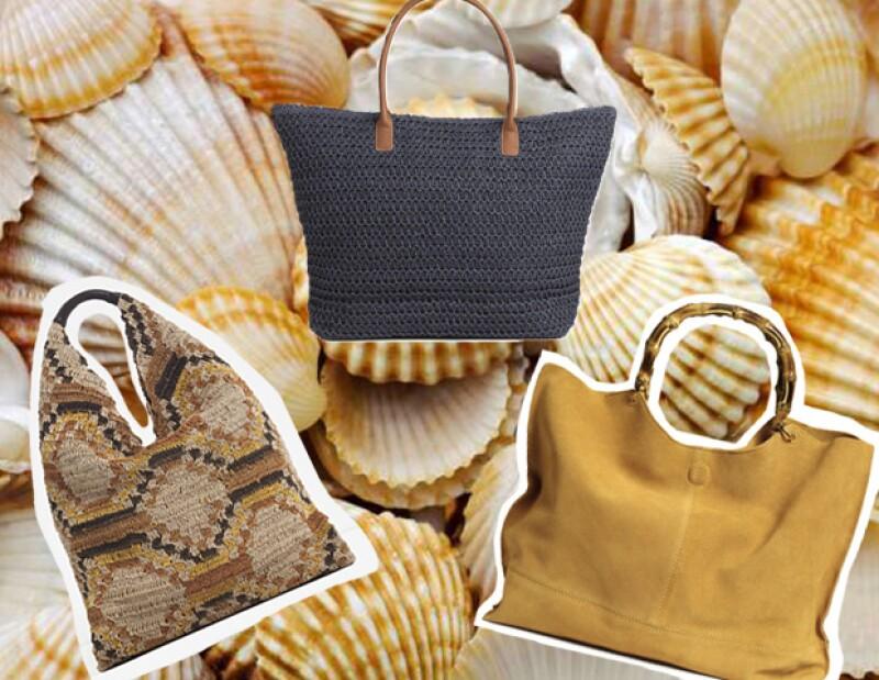 La bolsa es el elemento principal. Puedes encontrar varios tipos en Zara o H&M