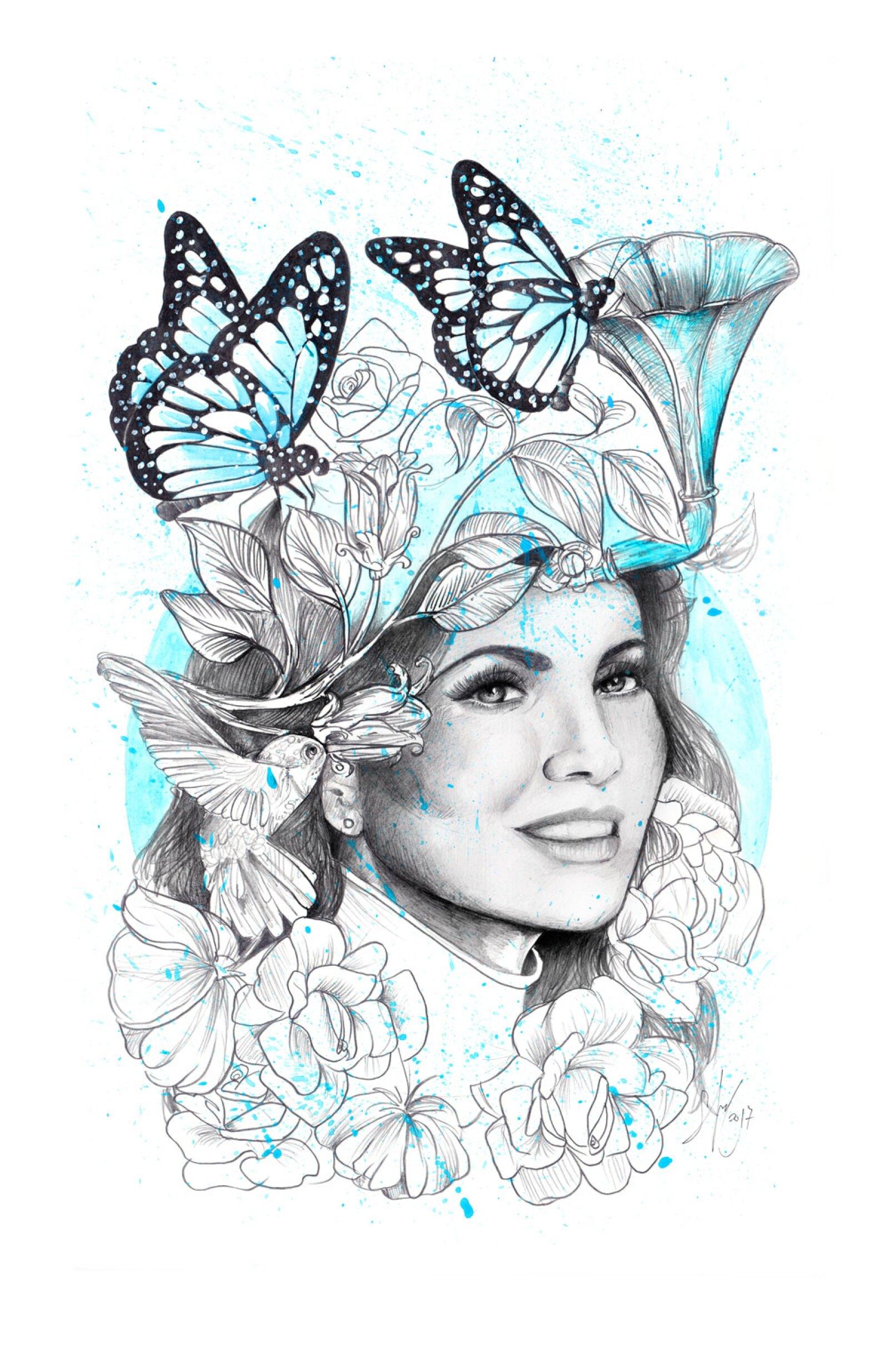Litografías por Sofía Castellanos y Chanel