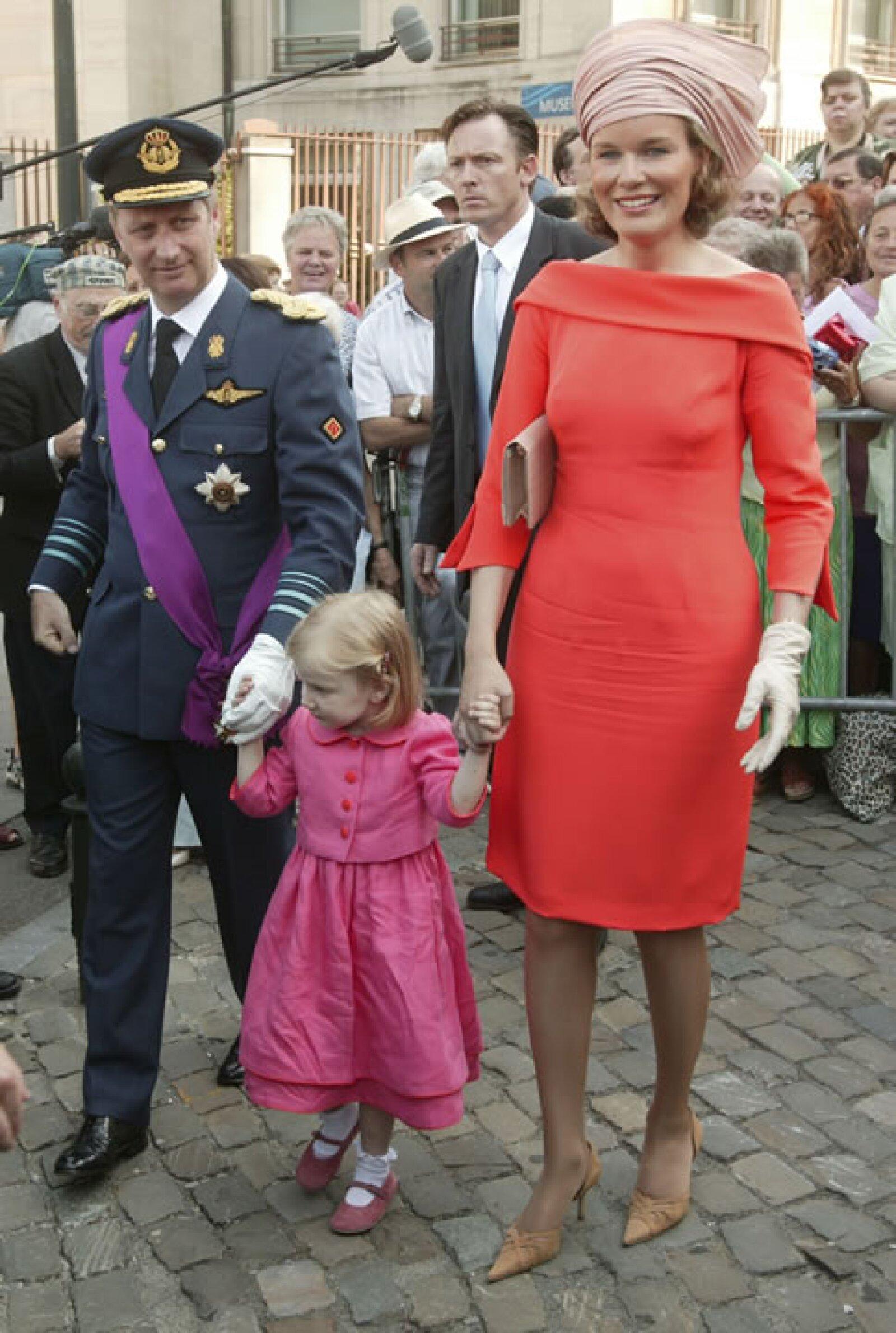 Es la primera heredera al trono que hace sus estudios en holandés