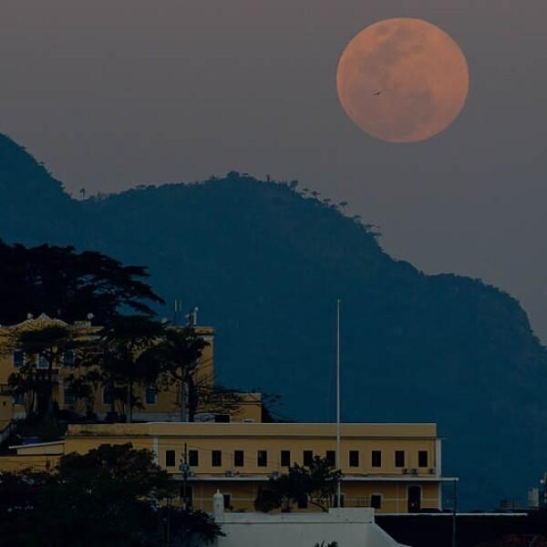Superluna Rio Janeiro agosto 2014