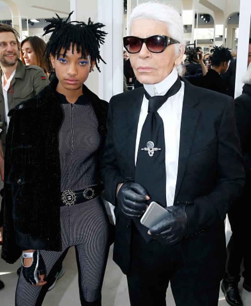 Willow Smith es la nueva embajadora de Chanel.