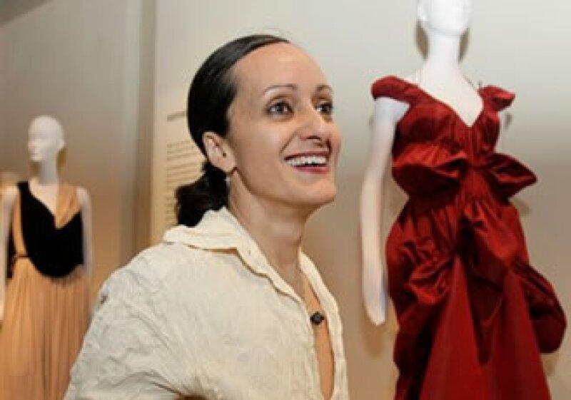 La diseñadora presentó una retrospectiva de su trabajo en el Museo del Fashion Institute of Technology en Nueva York. (Foto: AP)