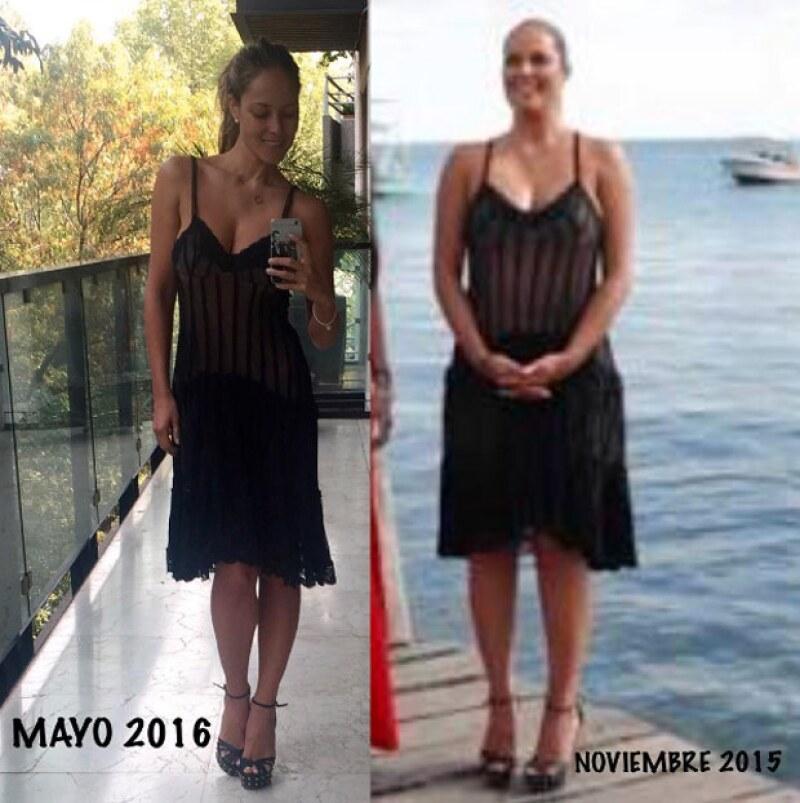 Vanessa presumió con un post en Instagram lo mucho que ha bajado de peso y lo increíble que ha sido recuperar su figura; además aseguró que sólo subía imágenes suyas de antes.