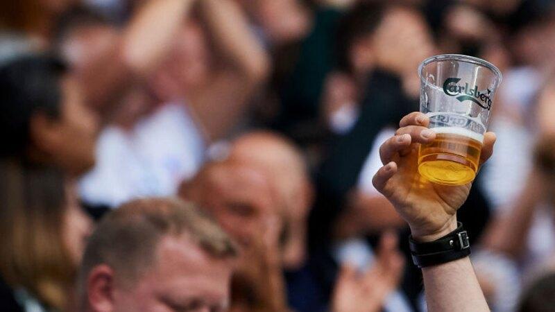 Cerveza en los estadios