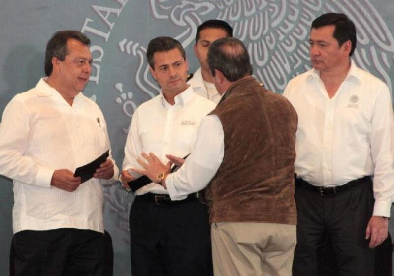 �ngel Aguirre Rivero y Pe�a Nieto