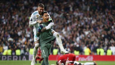 Keylor Navas Real Madrid