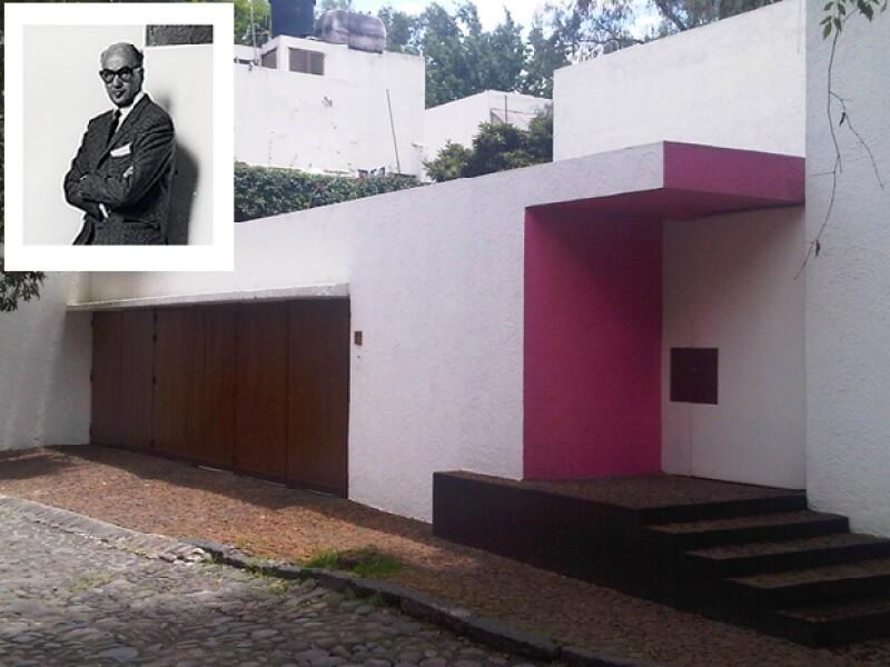 La casa Pimentel en Chimalistac es una de las obras más conocidas del arquitecto tapatío.