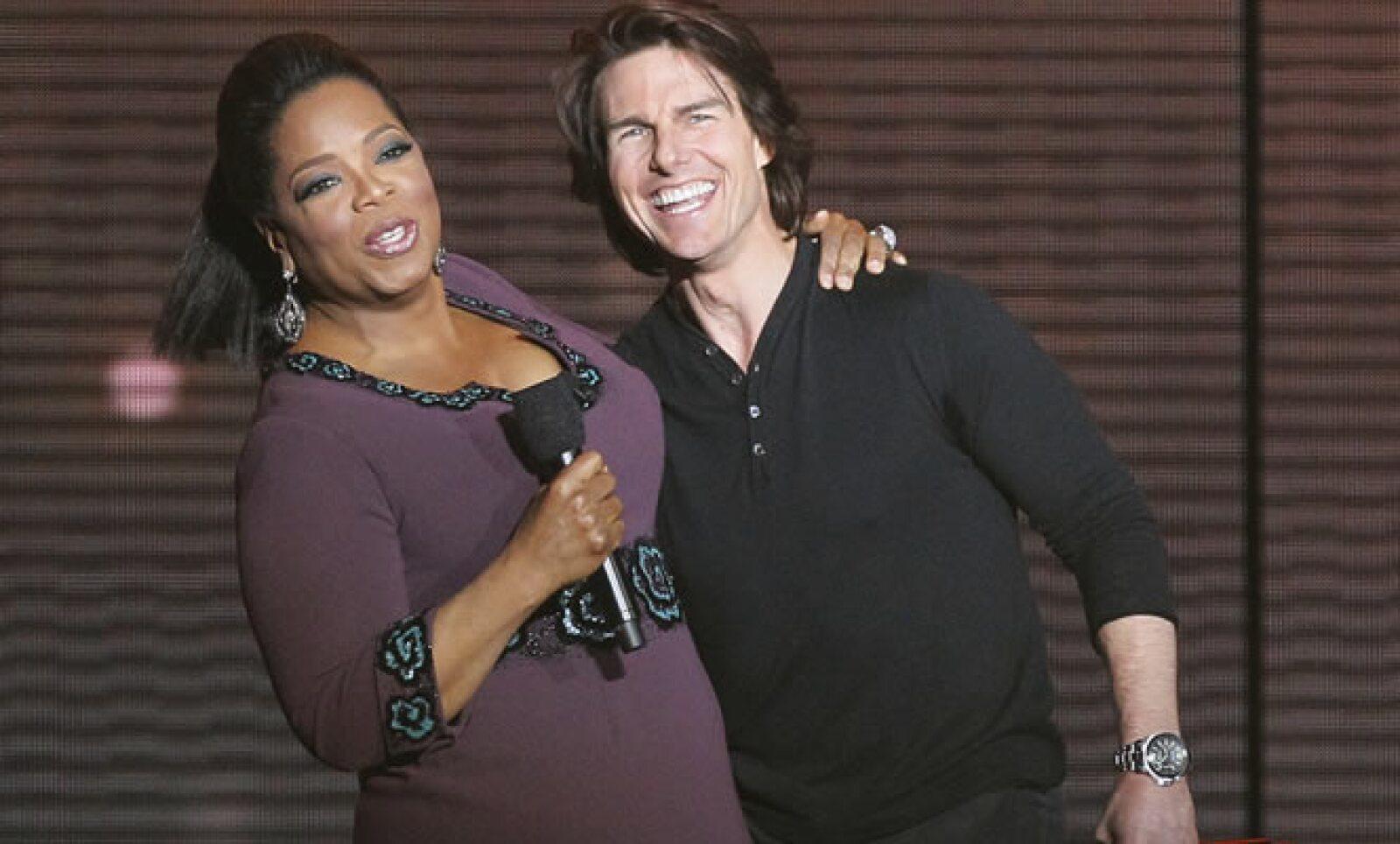 Tom Cruise también se despidió de la conductora en su programa especial. El actor ha participado en 37 películas y su salario promedio por cinta es de 20 millones de dólares.