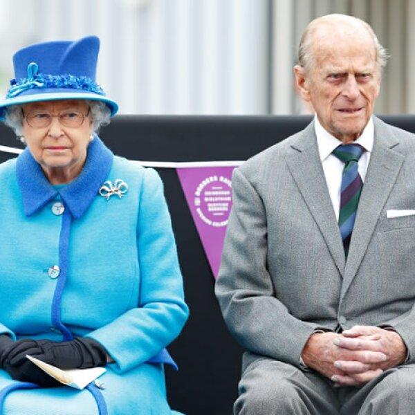Al evento fue acompañada de su esposo, el Príncipe de Edumburgo.