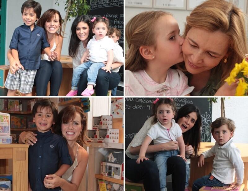 Joanna Faría, Ana Pazos y Teresa Luengo nos compartieron los consejos que han seguido para educar a sus hijos y lo que hacen para verlos felices.