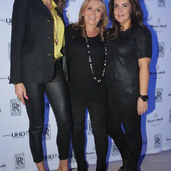 Celia Daniel,Rosaura Henkel,Margarita Pérez-Cuellar