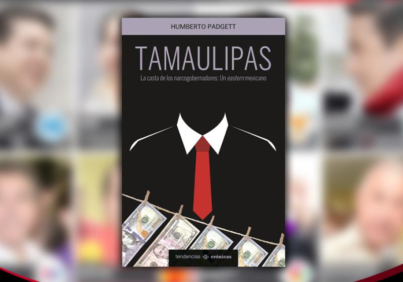 El libro toca los casos de los exgobernadores Tomás Yarrington y Eugenio Hernández y las consecuencias sociales que ha tenido el haber entregado el estado al crimen organizado.