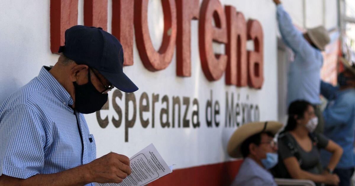 Morena lanza las convocatorias para hallar a sus candidatos a gobernador en 2021