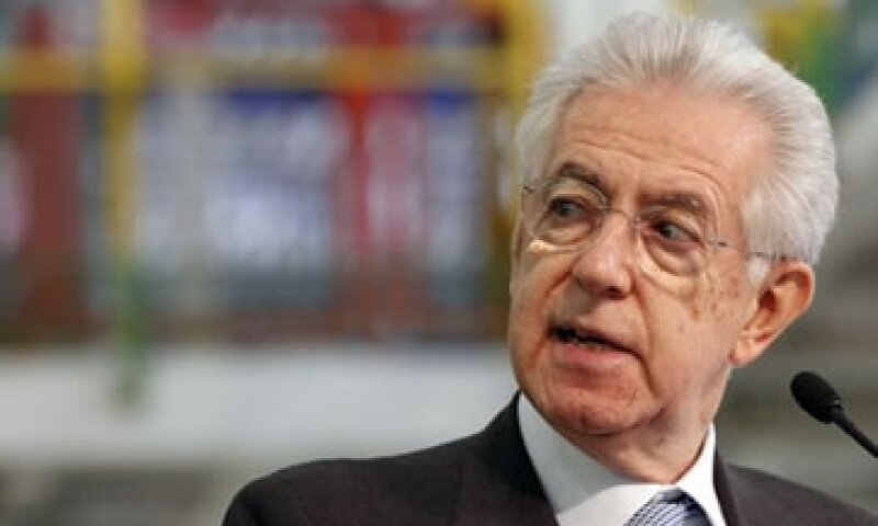 Mario Monti tomó las riendas de Italia hace un año ante la dimisión de Silvio Berlusconi.  (Foto: Reuters)