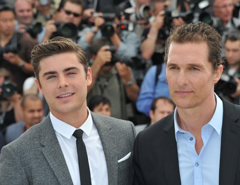 """Zac y Matthew se convirtieron en buenos amigos durante la filmación de """"The Paperboy""""."""