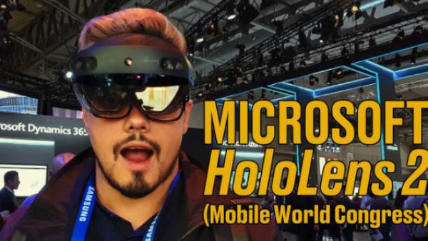 Microsoft HoloLens 2: realidad mixta para el trabajo 'de campo'