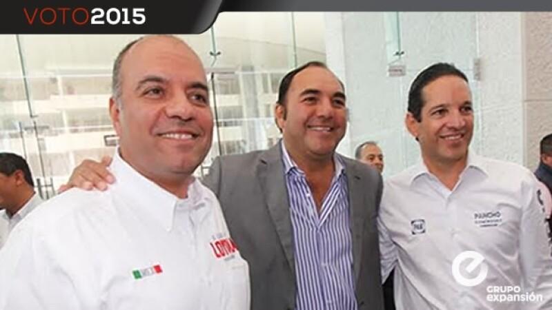 Francisco Dominguez, Roberto Loyola, Alejandro Cabrera Sigler