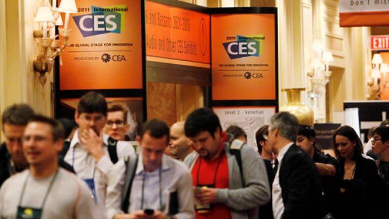 El CES se realiza del 6 al 9 de enero en Las Vegas, Nevada. Se espera que más de 120,000 personas visiten esta feria tecnológica, la más grande de América.