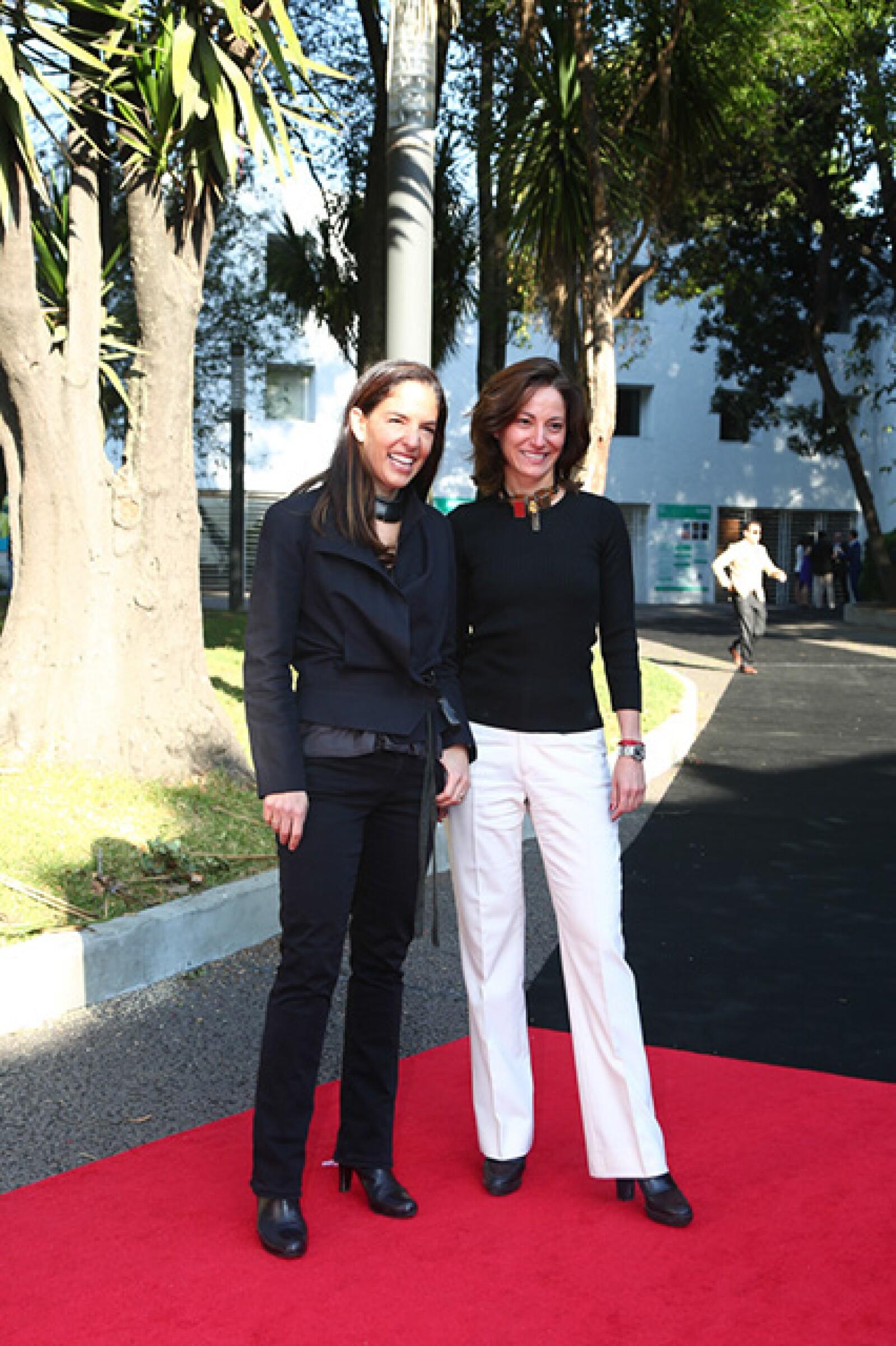 Bertha González y Sandra Chollet