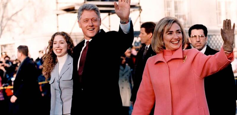 Hillary abandonó su apellido de soltera cuando se convirtió en la primera dama de Estados Unidos.
