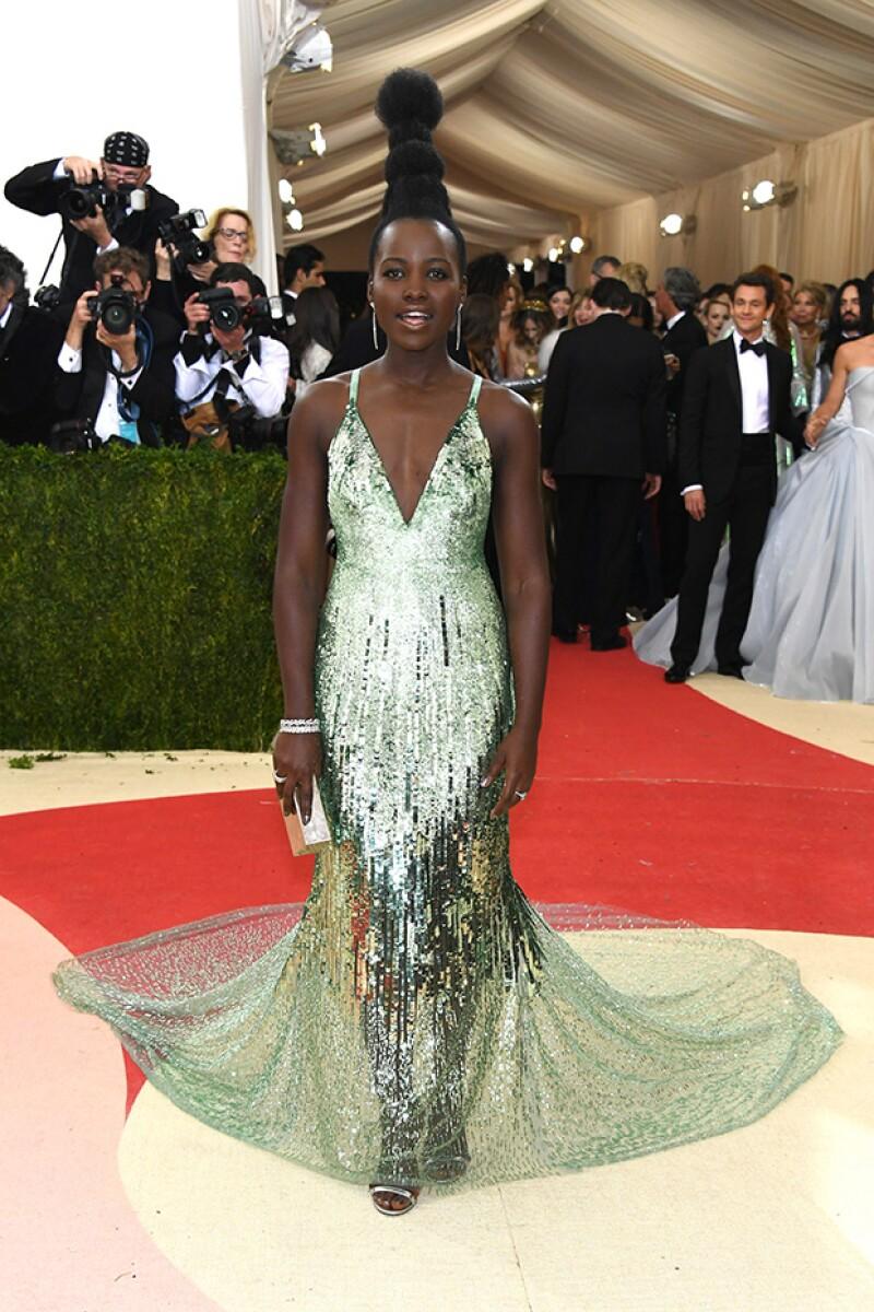Tras ser comparada con diversos personajes, la actriz ganadora del Oscar reveló que su inspiración fueron las culturas africanas.