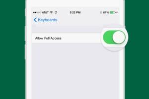 Para iPhone, tienes que darle Acceso Total.