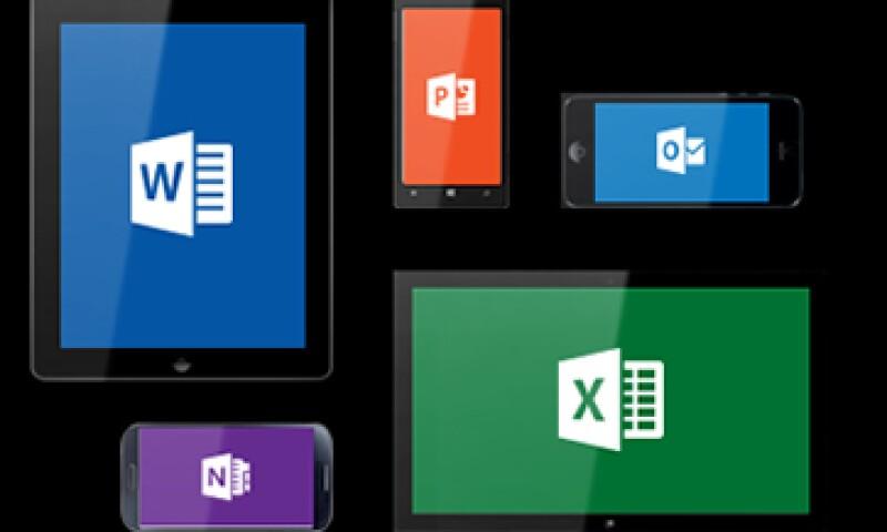 Microsoft optimizó las aplicaciones de Office para iPhone. (Foto: tomada de Microsoft )