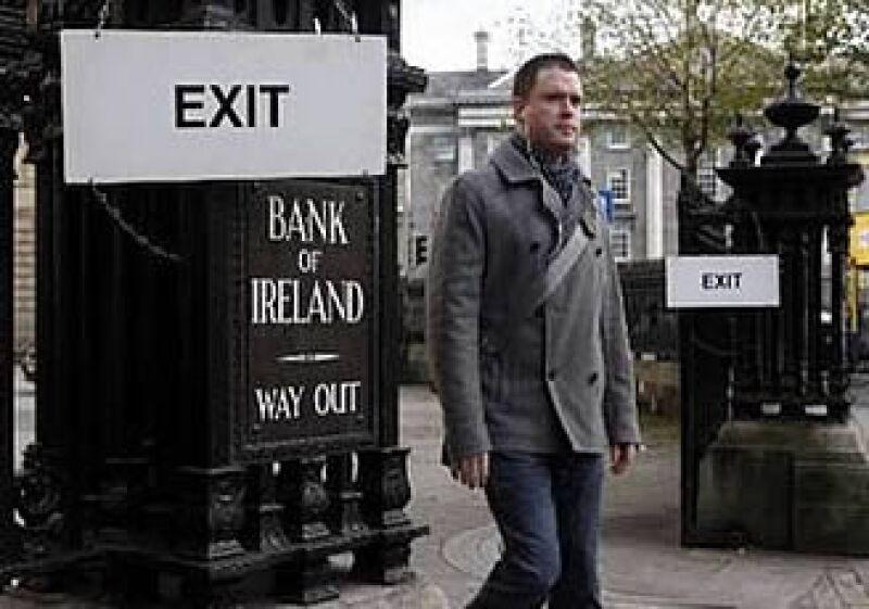 Irlanda recibirá ayuda de toda la comunidad europea para controlar su crisis financiera.  (Foto: Reuters)
