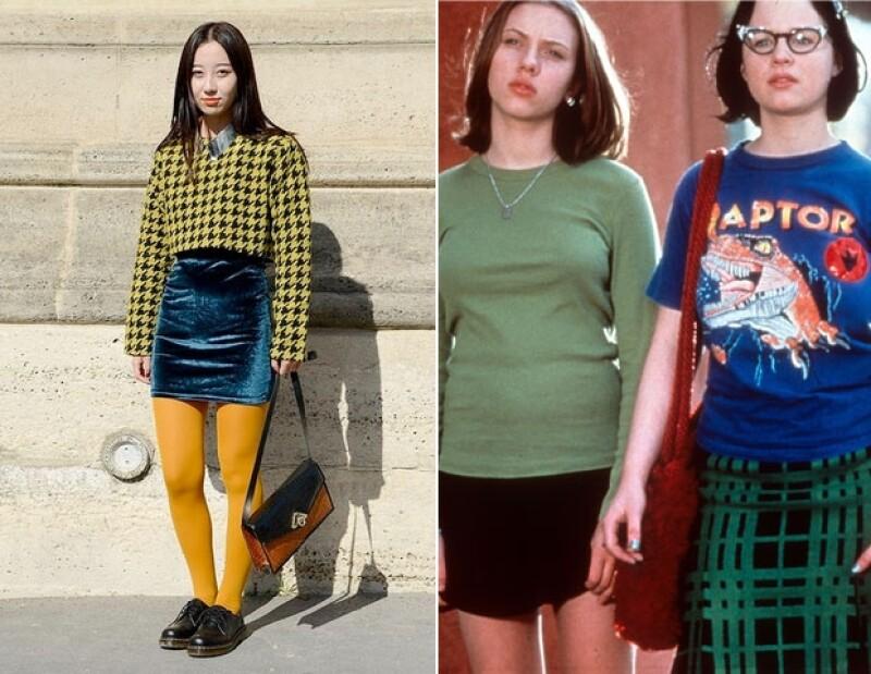 Enid y Rebecca eran las niñas más weird de los años 90, sólo basta recordar Ghost World.