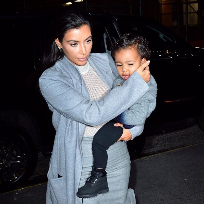 North West, hija de Kim Kardashian y Kanye West, tiene casi un año y medio.
