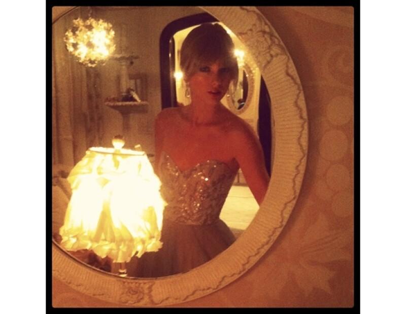 La cantante country sube fotos de su día a día.