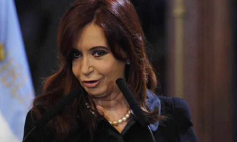 Cristina Fernández, presidenta de Argentina, dijo que vende 400,000 toneladas de biodiesel  a España.     (Foto: Reuters)