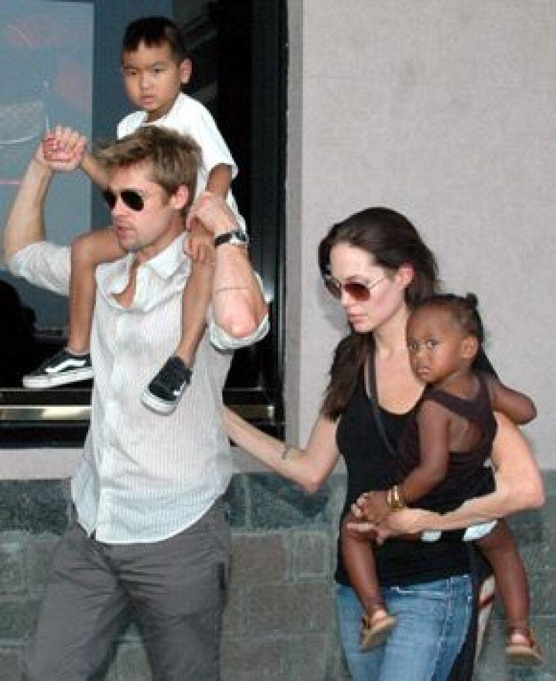 El actor rechaza casarse con Angelina Jolie por miedo a que su relación termine en divorcio.