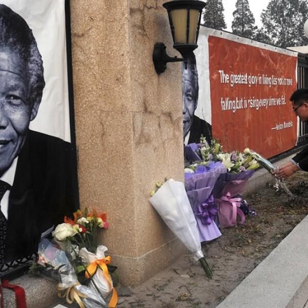 Nelson Mandela Beijing China