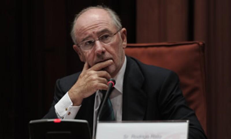 Rodrigo Rato era responsable de responsable de Caja Madrid y Bankia. (Foto: AFP)
