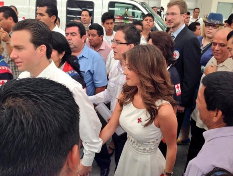 Anahí y Manuel Velasco comenzaron su relación en 2012.