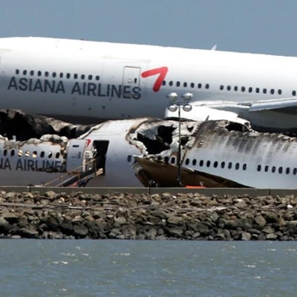 accidente avion