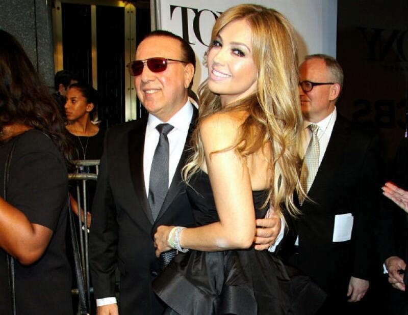 Thalía y Tommy Mottola tienen 13 años de casados y dos hijos.