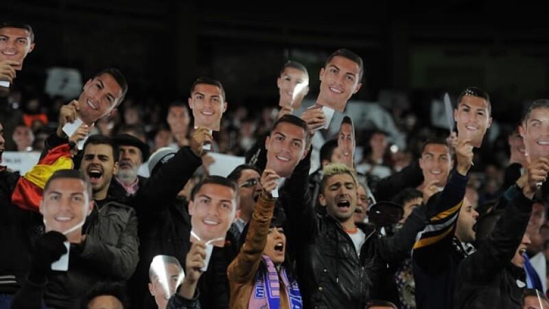 Aficionados de Cristiano Ronaldo