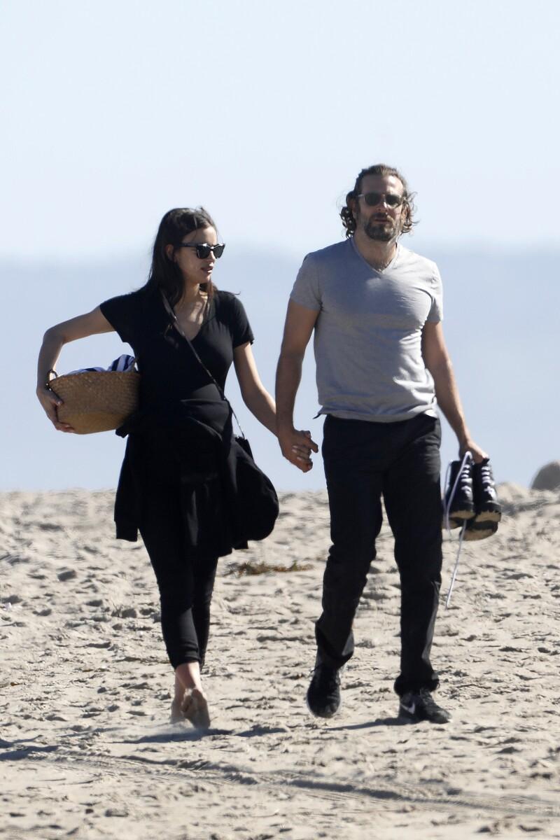 Irina y Bradley en Venice Beach