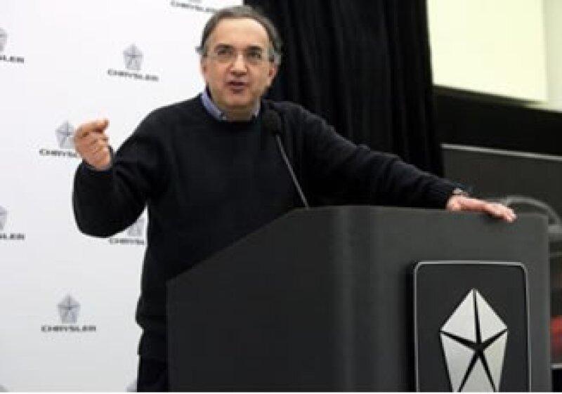 Sergio Marchionne, director de Chrysler Group, prevé incrementar las ventas de la empresa en México.  (Foto: Reuters)