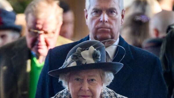 British Royals attend St Mary the Virgin church, Hillington, Sandringham, Norfolk, UK - 19 Jan 2020