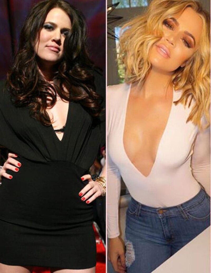 La estrella de reality ha perdido alrededor de 18 kilos los últimos tres años.