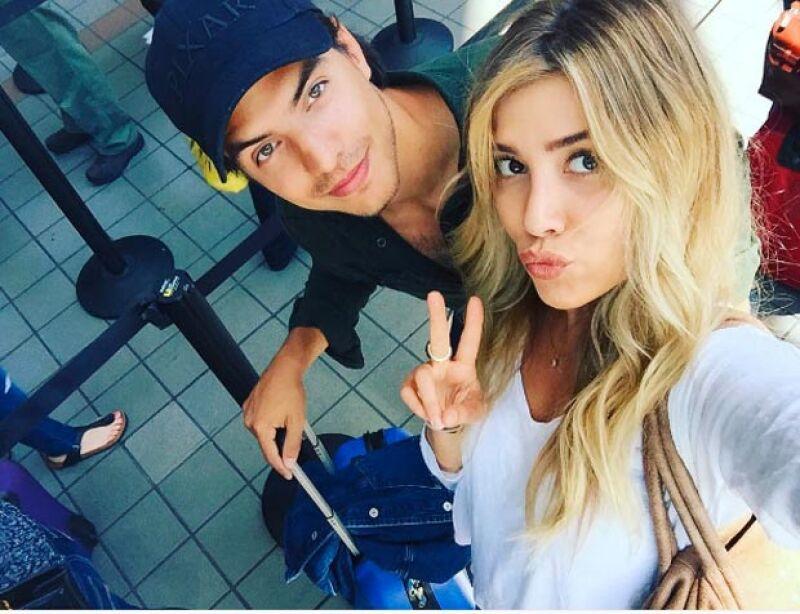 Luego de que el actor publicara una foto con la hija de Luis Miguel, comenzaron rumores de que ambos tenían un romance, por lo que en entrevista con 'Hoy' el actor habló de la situación.