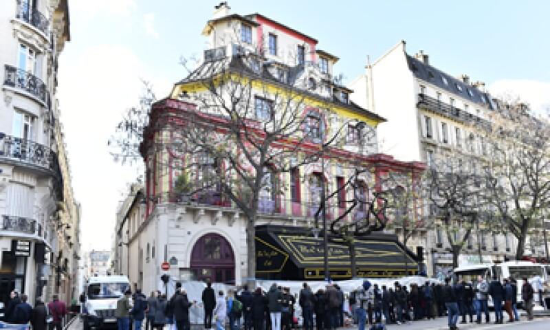 Bataclan está situada en el bulevar Voltaire. (Foto: AFP)