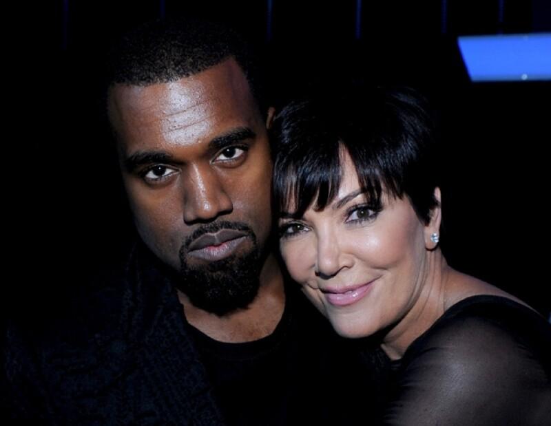 El rapero cree que es una gran idea que todos los Kardashian estén juntos durante las primeras semanas de vida de su bebé, por ello es que se mudará momentáneamente a casa de su suegra.