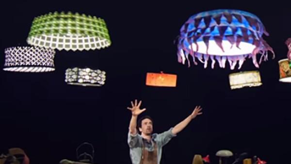 El instituto suizo ETH fue el proveedor de las aeronaves no tripuladas. (Foto: tomada de: YouTube/Cirque du Soleil)