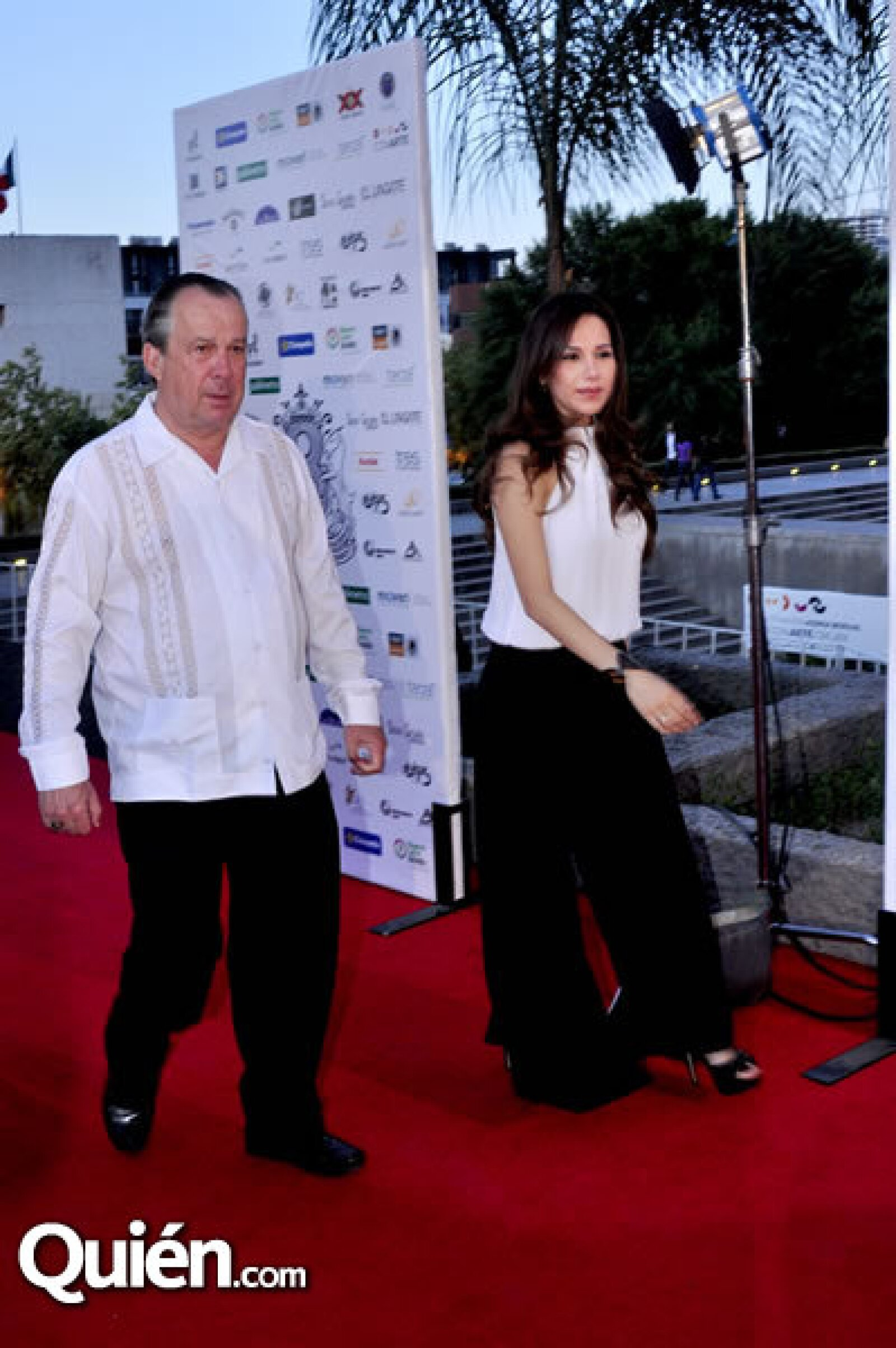 Mauricio Fernández y Aleida Ortega