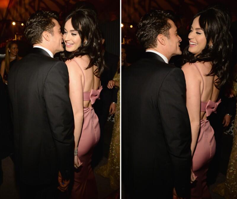 Durante el afterparty de los Golden Globe, la cantante y el actor fueron captados coquetéandose sin parar, lo cual ha generado rumores de un posible romance.