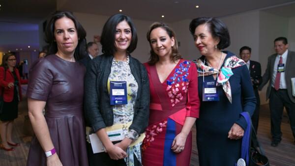 Personajes como Carlos Slim, Claudia Ruiz Massieu y Margarita Zavala dieron importantes pláticas sobre el empoderamiento de la mujer.